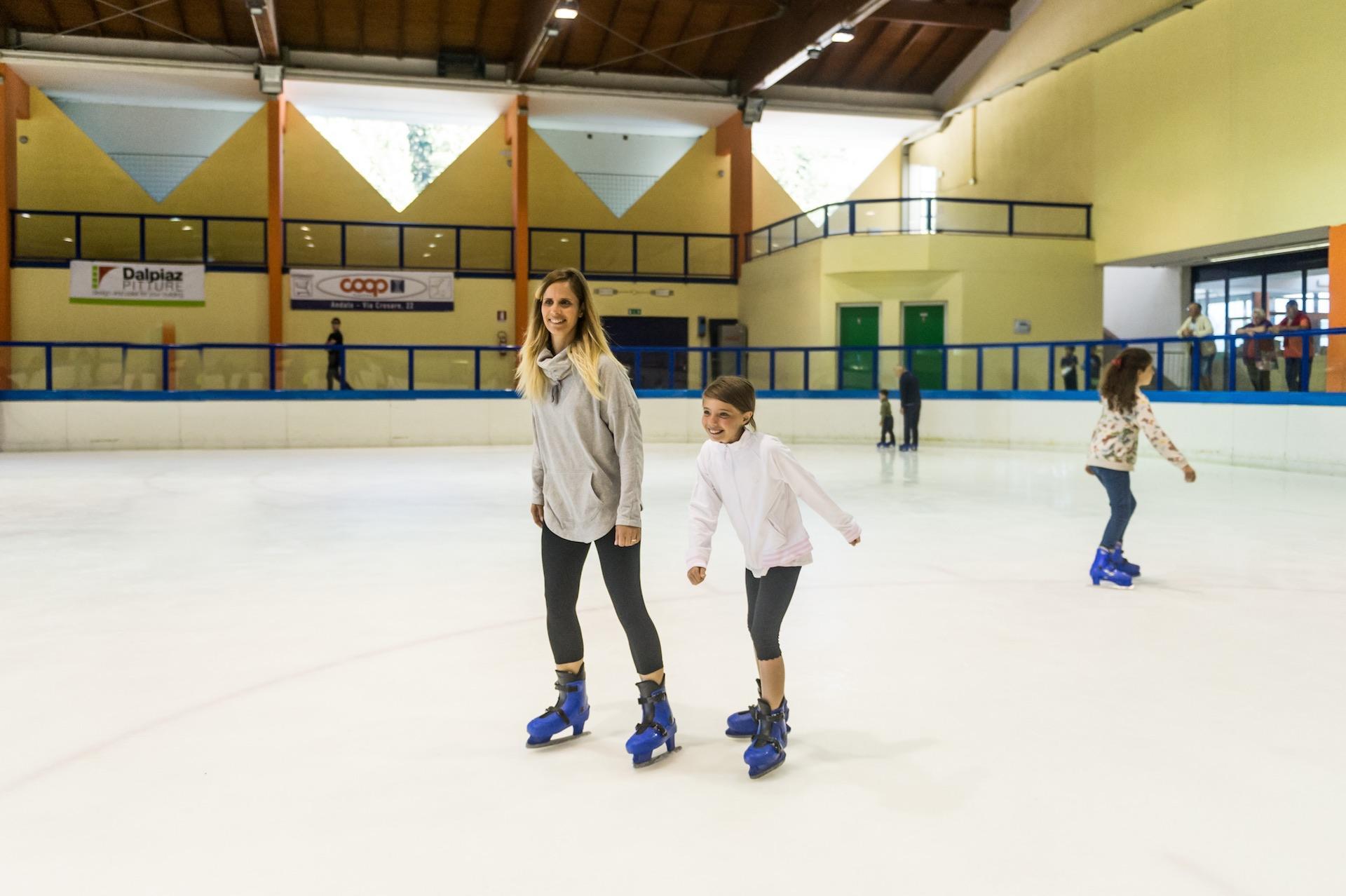 Andalo Vacanze Pattinaggio sul ghiaccio Family Park Dolomiti Paganella Trentino