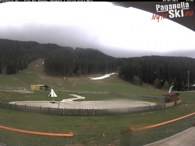 Paganella Ski: Pian del Dosson, Snowpark e arrivo pista Nera
